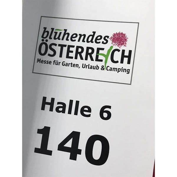 """Erfolgreicher Messeauftritt unseres Vertriebspartners POOLZ GROUP auf der Messe """"Blühendes Österreich"""" 2019"""