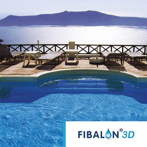 FIBALON 3D - Outdoorpool am Meer