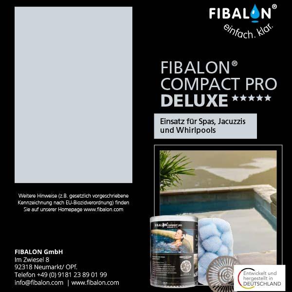 FIBALON compact pro deluxe ***** Flyer - Einsatz für Spas, Jacuzzis und Whirlpools