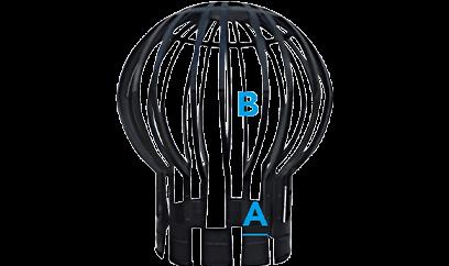 FIBALON Rückspülgitter