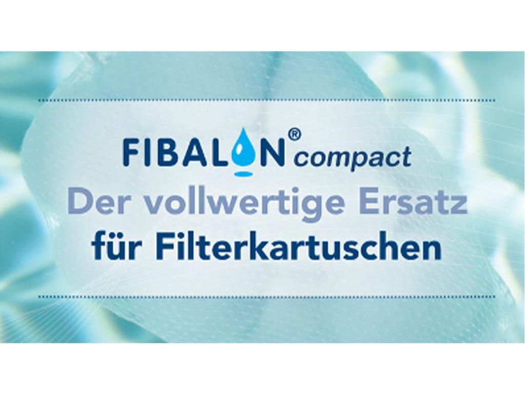 FIBALON compact - der vollwertige Ersatz für Filterkartuschen