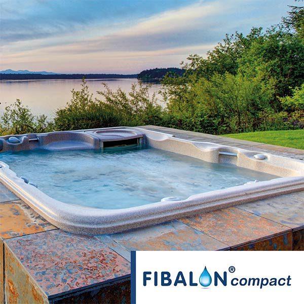 FIBALON compact - Whirlpool mit Seeblick