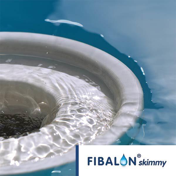 FIBALON skimmy - Skimmer an Wasseroberfläche