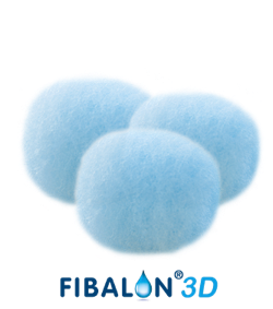 FIBALON 3D, drei Filter in Kugelform