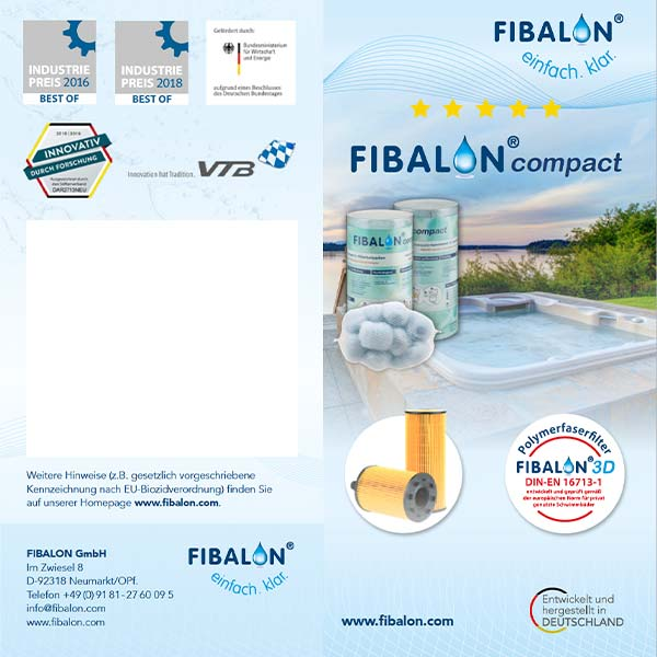 FIBALON compact Poolfilter