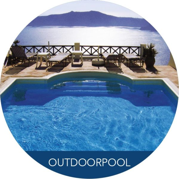 Outdoorpool am See