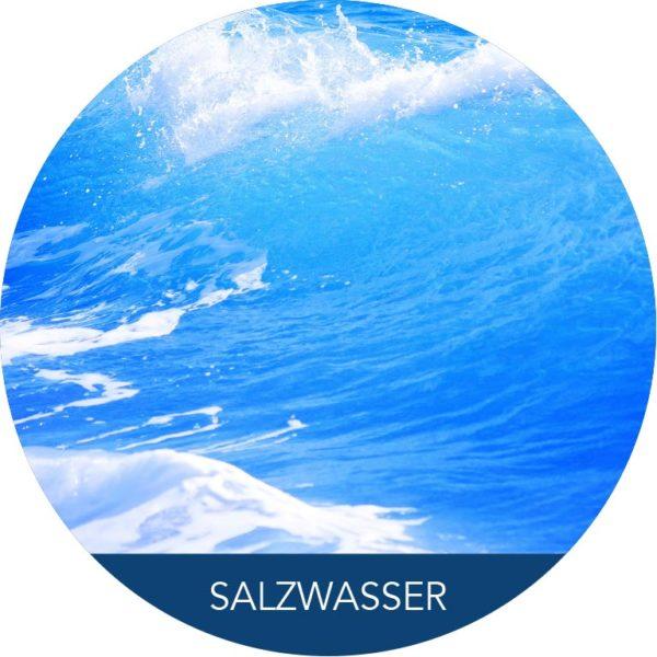 Salzwasser Welle