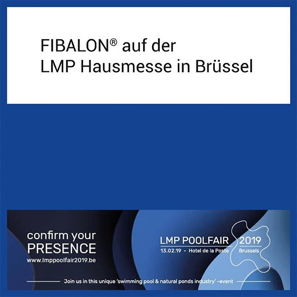 FIBALON News - FIBALON auf der LMP Hausmesse in Brüssel am 13.02.2019