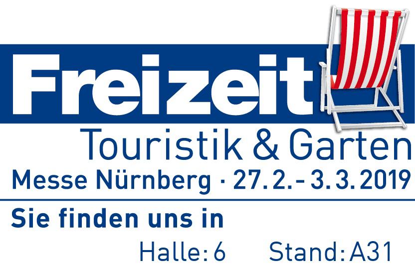 Freizeit-, Touristik- und Gartenmesse Nürnberg vom 27.02. bis 03.03.2019