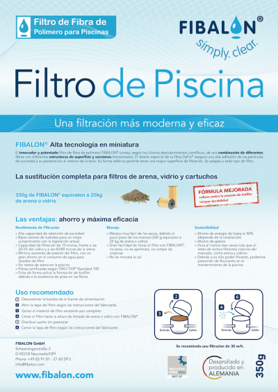 FIBALON spanish, Flyer spanisch